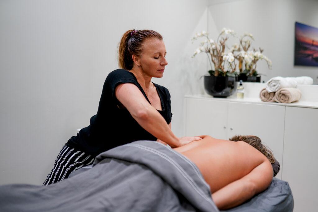 Massage bij man