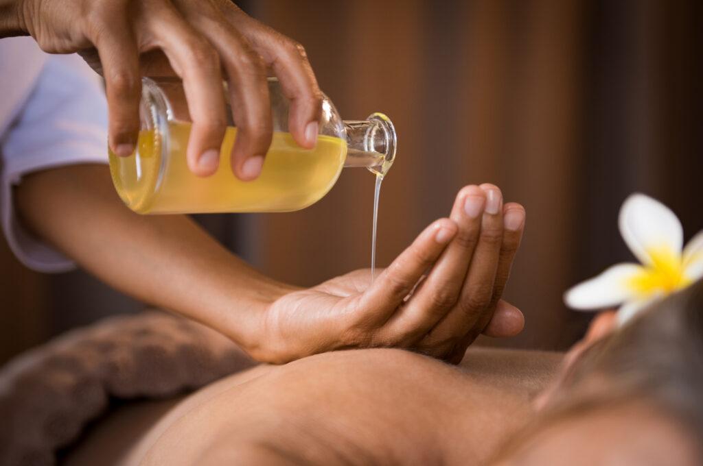 Aromatherapie massage afbeelding 2